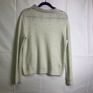 Juicy Couture Medium white sweater with jewels